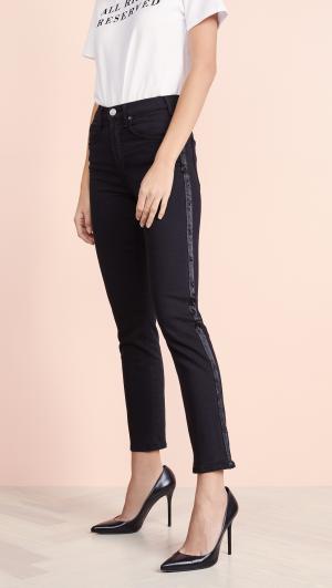 Valletta Tuxedo Straight Jeans McGuire Denim
