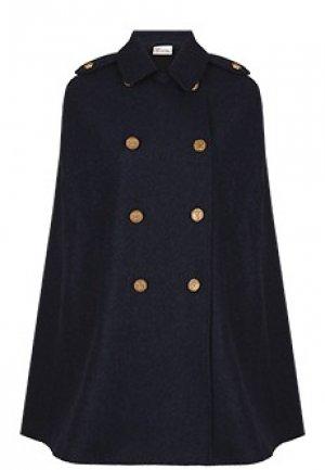 Пальто VALENTINO RED. Цвет: синий
