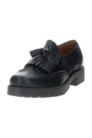 Ботинки Dali. Цвет: синий
