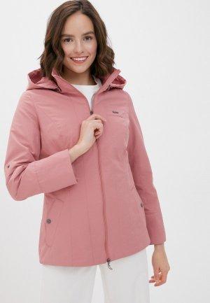 Куртка DizzyWay. Цвет: розовый