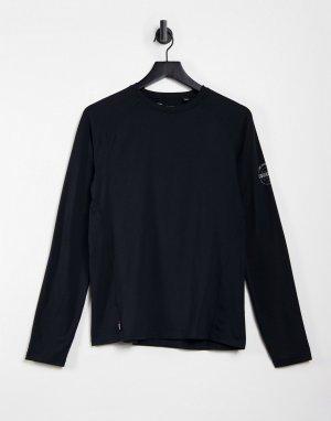 Черное облегающее термобелье -Черный цвет Surfanic