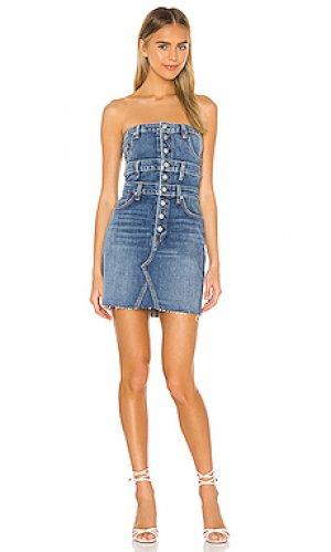 Мини платье Hudson Jeans. Цвет: none