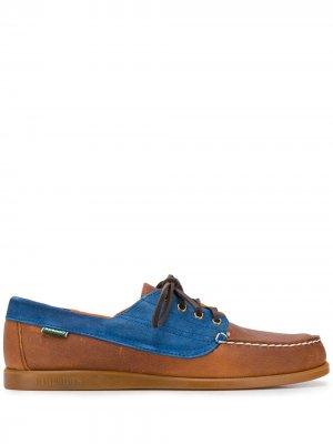 Топсайдеры на шнуровке Sebago. Цвет: коричневый