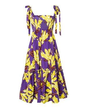 Сарафан CECCO722472 s фиолетовый+желтый P.A.R.O.S.H.. Цвет: фиолетовый+желтый