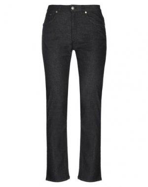 Джинсовые брюки AGNONA. Цвет: черный