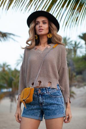 Sweater FIMFI. Цвет: beige