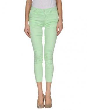 Повседневные брюки CHEAP MONDAY. Цвет: светло-зеленый