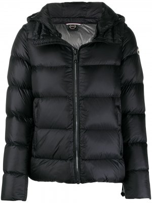 Куртка-пуховик на молнии Colmar. Цвет: черный