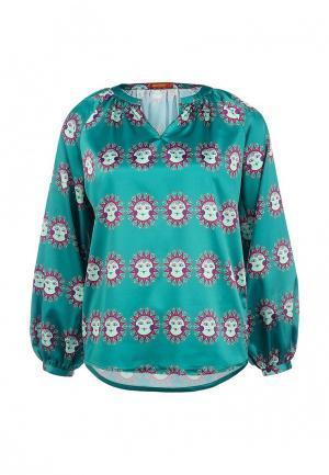 Блуза Анна Чапман. Цвет: хаки