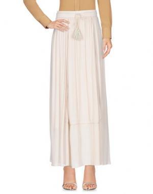 Длинная юбка AAIKO. Цвет: слоновая кость