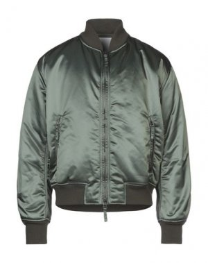 Куртка JET SET. Цвет: зеленый-милитари