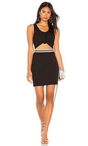 Платье KENDALL + KYLIE. Цвет: черный