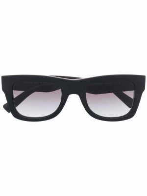 Солнцезащитные очки с логотипом VLTN Valentino Eyewear. Цвет: черный