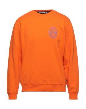 Толстовка IUTER. Цвет: оранжевый