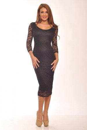 Платье Ines Collezione. Цвет: черный