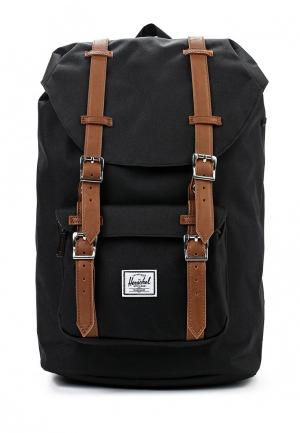 Рюкзак Herschel Supply Co LITTLE AMERICA MID-VOLUME. Цвет: черный