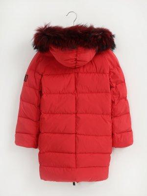 Удлиненная куртка с капюшоном Finisterre. Цвет: krasnyy