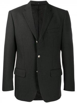 Однобортный пиджак 1990-х годов Valentino Pre-Owned. Цвет: серый