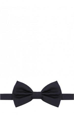 Шелковый галстук-бабочка Dolce & Gabbana. Цвет: синий
