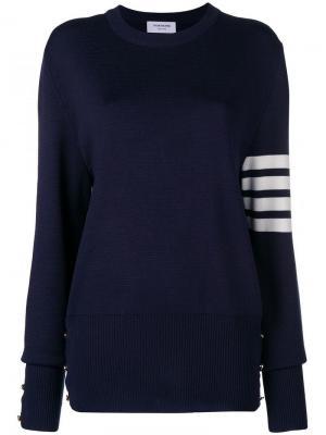 Пуловер Milano с полосками на рукаве Thom Browne