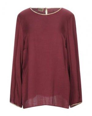 Блузка ALVIERO MARTINI 1a CLASSE. Цвет: кирпично-красный