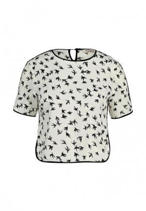 Блуза Louche. Цвет: бежевый