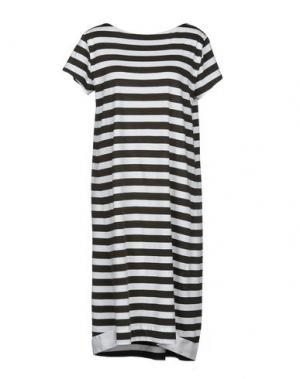 Платье до колена ALPHA STUDIO. Цвет: черный