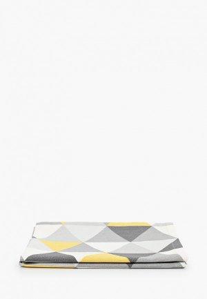 Салфетка сервировочная La Peonia. Цвет: серый