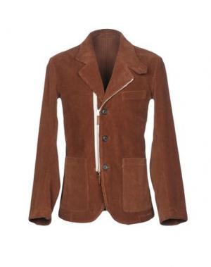 Пиджак UMIT BENAN. Цвет: коричневый