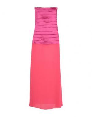Длинное платье FRANCESCA FERRANTE. Цвет: фуксия