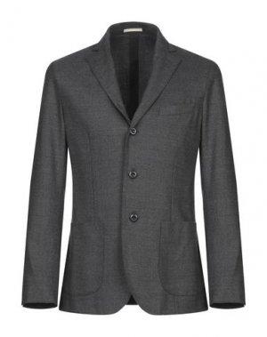 Пиджак CRUNA. Цвет: свинцово-серый