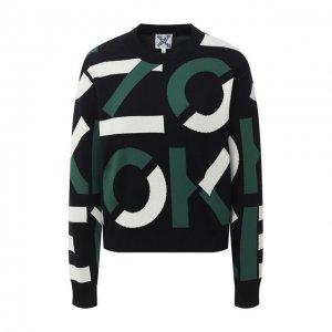 Пуловер Kenzo. Цвет: зелёный