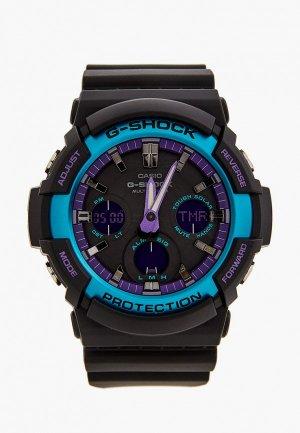 Часы Casio G-SHOCK GAW-100BL-1AER. Цвет: черный