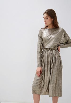 Платье Adzhedo. Цвет: золотой