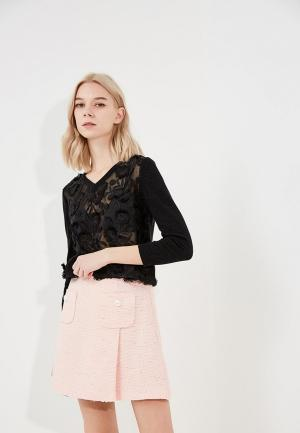 Пуловер Boutique Moschino BO036EWYWF49. Цвет: черный