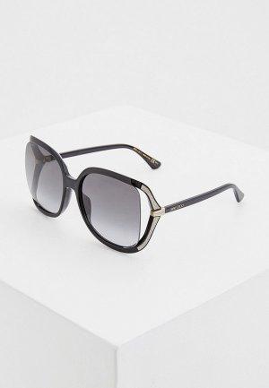 Очки солнцезащитные Jimmy Choo TILDA/G/S 807. Цвет: черный