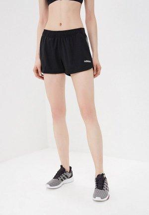 Шорты спортивные adidas D2M SHT BR KNT. Цвет: черный