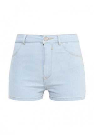 Шорты джинсовые Alcott. Цвет: голубой