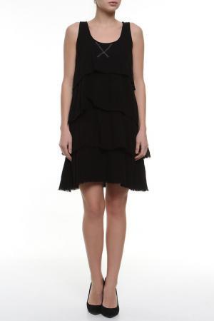 Платье Aiko. Цвет: черный