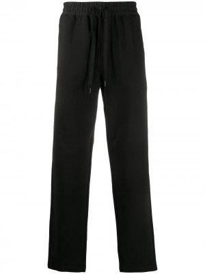 Спортивные брюки с нашивкой-логотипом Calvin Klein. Цвет: черный