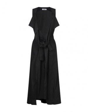 Длинное платье MARIOS. Цвет: черный