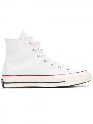 Chuck 70 HI sneakers Converse. Цвет: белый