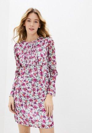 Платье Guess Jeans. Цвет: разноцветный