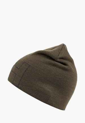 Шапка Helly Hansen OUTLINE BEANIE. Цвет: хаки