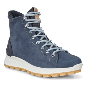 Ботинки высокие EXOSTRIKE ECCO. Цвет: синий