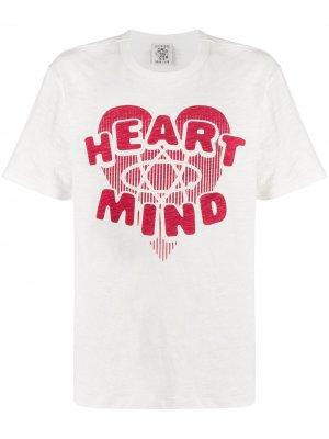 Футболка Heart & Mind Billionaire. Цвет: белый