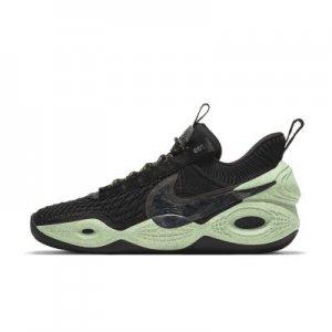 """Баскетбольные кроссовки Cosmic Unity """"Green Glow"""" - Черный Nike"""