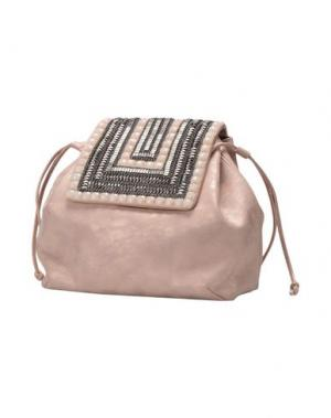 Рюкзаки и сумки на пояс CHIARA P. Цвет: розовый