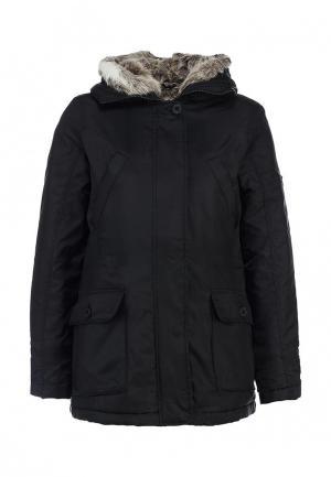Куртка утепленная F5. Цвет: черный