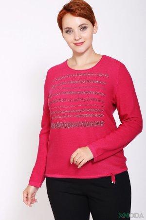 Пуловер Rabe collection. Цвет: розовый